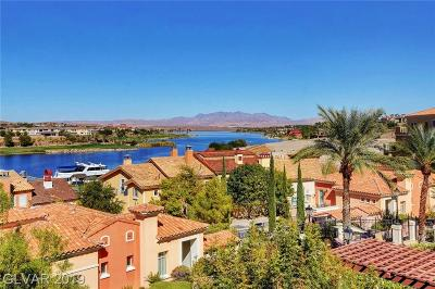 Viera Condo Amd, V At Lake Las Vegas, Mantova-Phase 1, Mantova-Phase 2, South Shore Villas Amd, Luna Di Lusso Condo 2nd Amd, Luna Di Lusso Condo 3rd Amd, Parcel 6n-4-A Vita Bella High Rise For Sale: 30 Strada Di Villaggio #308