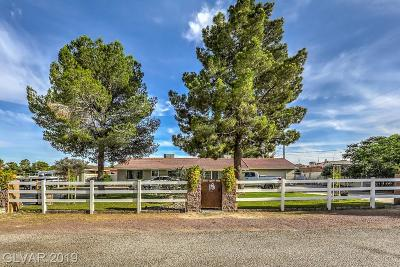 Clark County Single Family Home For Sale: 5281 Hayes Avenue