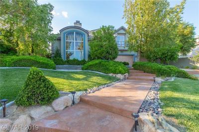 Henderson Single Family Home For Sale: 2814 La Mesa Drive