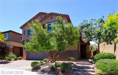 Las Vegas Single Family Home For Sale: 3250 Grayson Lake Court