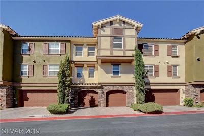 Las Vegas NV Condo/Townhouse For Sale: $380,000