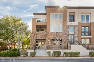 Henderson Condo/Townhouse For Sale: 3155 Via Como
