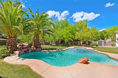 Las Vegas Single Family Home For Sale: 1601 Fairgate Court