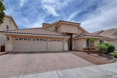 North Las Vegas Single Family Home For Sale: 3713 White Lion Lane