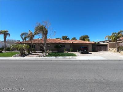 Boulder City Single Family Home For Sale: 1544 Mancha Drive