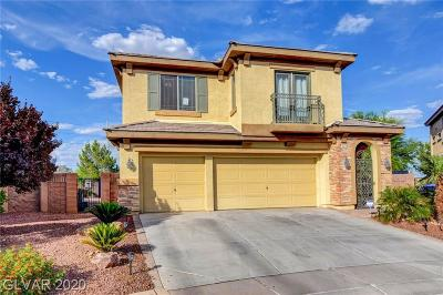 North Las Vegas Single Family Home For Sale: 3428 May Time Avenue