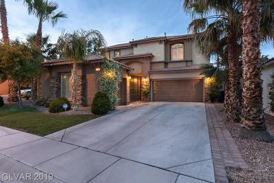 Las Vegas Single Family Home Under Contract - No Show: 11784 Golden Moments Avenue