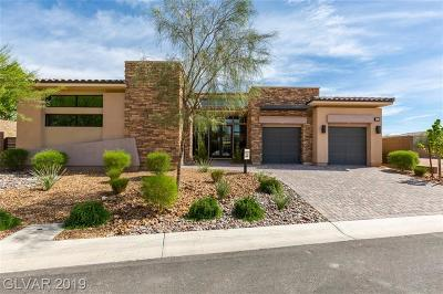 Henderson NV Single Family Home For Sale: $1,148,000