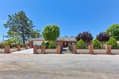 Clark County Single Family Home For Sale: 7190 Polaris Avenue