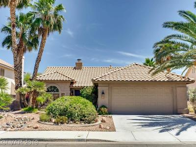 Henderson Single Family Home Under Contract - No Show: 1803 Candle Bright Drive