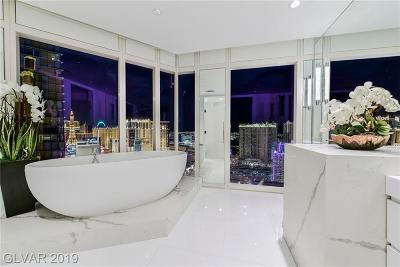 Resort Condo At Luxury Buildin High Rise For Sale: 3750 South Las Vegas Bl Boulevard #2508
