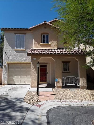 Las Vegas Single Family Home For Sale: 102 Temple Bells Court