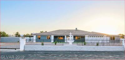 Centennial Hills Single Family Home For Sale: 5500 Mustang Street