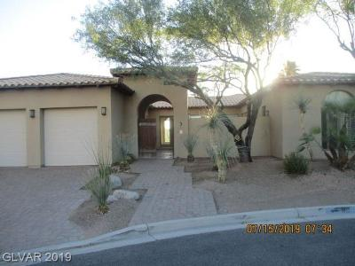 Las Vegas NV Single Family Home For Sale: $674,900