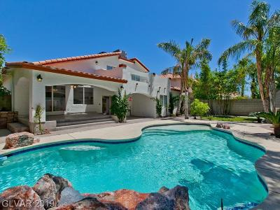 Henderson Single Family Home Under Contract - No Show: 2679 African Violet Av Avenue