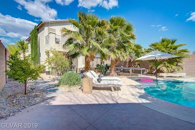 Las Vegas Single Family Home For Sale: 8012 Farthings Hill Drive