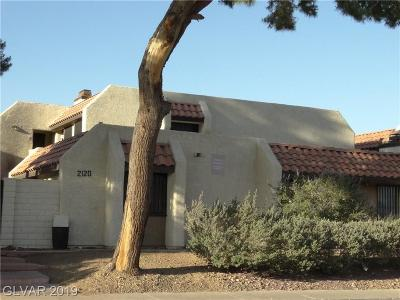North Las Vegas Condo/Townhouse For Sale: 2120 Venus Avenue #D