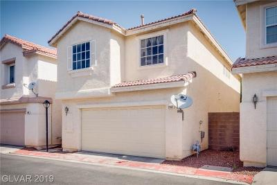 North Las Vegas Single Family Home For Sale: 2912 Paradise Hill Court