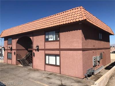 Las Vegas Multi Family Home Under Contract - No Show