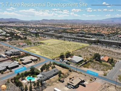 Henderson Residential Lots & Land For Sale: Goldhill Rd