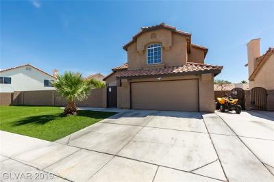 North Las Vegas Single Family Home For Sale: 5124 Sierra Blanca Lane