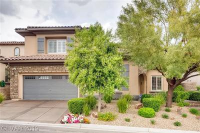 Las Vegas Single Family Home For Sale: 866 Loma Bonita Place