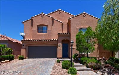 Centennial Hills Single Family Home For Sale: 10716 Jubilee Mountain Avenue