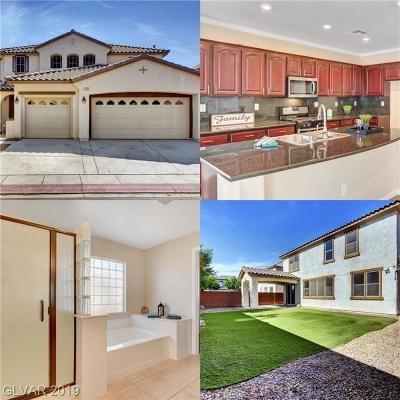 North Las Vegas Single Family Home For Sale: 5925 Big Horn View Street