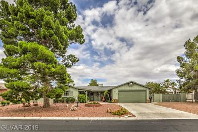North Las Vegas Single Family Home Under Contract - Show: 4712 Brushfire Street