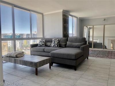 Las Vegas High Rise For Sale: 3930 Swenson Street #807