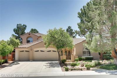 Las Vegas Single Family Home For Sale: 1504 Pine Leaf Drive