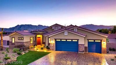 Las Vegas NV Single Family Home For Sale: $601,000