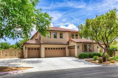 Las Vegas Single Family Home For Sale: 8312 Fulton Ranch Street