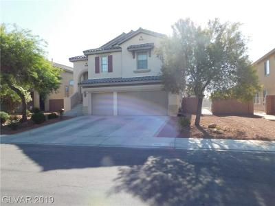 North Las Vegas Single Family Home For Sale: 5608 Pacesetter Street