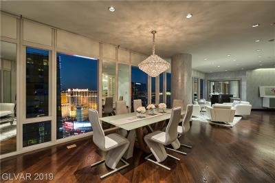 Resort Condo At Luxury Buildin High Rise For Sale: 3750 South Las Vegas Bl Boulevard #3309