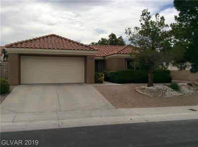 Sun City Summerlin Single Family Home Under Contract - No Show: 3025 Lotus Hill Drive