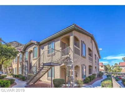 Centennial Hills Condo/Townhouse For Sale: 3360 Cactus Shadow Street #102