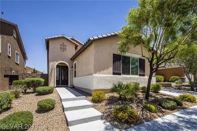 Henderson Single Family Home For Sale: 2660 Bad Rock Circle