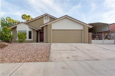 Boulder City Single Family Home For Sale: 1122 Cummings Drive