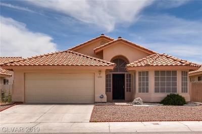 North Las Vegas Single Family Home Under Contract - Show: 1521 Glenrosa Drive