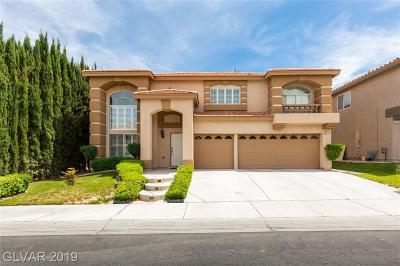 Centennial Hills Single Family Home For Sale: 8613 Copper Falls Avenue
