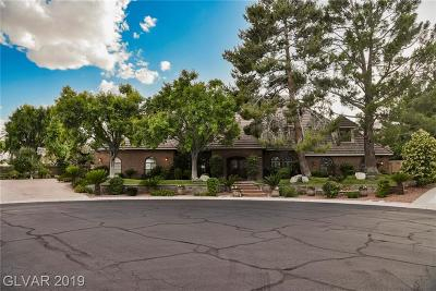 Las Vegas Single Family Home For Sale: 2131 Marina Bay Court