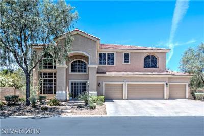 Las Vegas Single Family Home For Sale: 7031 Jurani Street