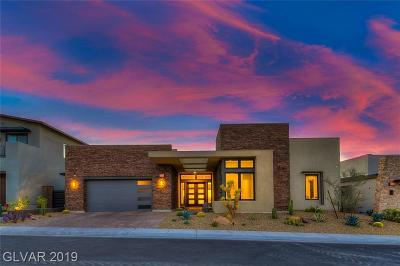 Henderson Single Family Home For Sale: 2224 Overlook Canyon Lane