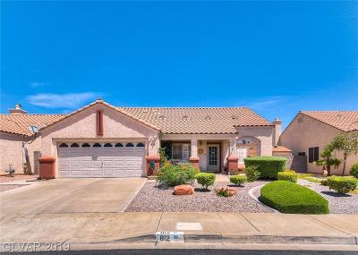 Henderson Single Family Home For Sale: 812 Seco Verde Drive
