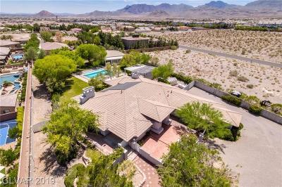 Las Vegas Single Family Home For Sale: 9865 Elkhorn Road