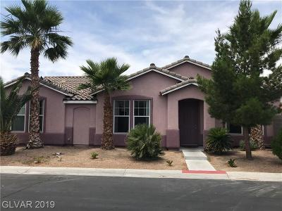 Las Vegas Single Family Home Under Contract - No Show: 4927 Midnight Oil Drive