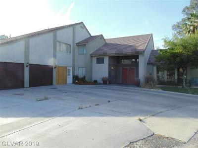 Paradise Single Family Home For Sale: 3980 Pecos Road