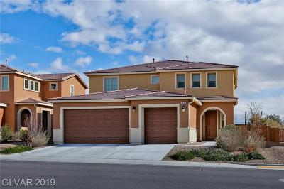 North Las Vegas Single Family Home For Sale: 6608 Towerstone Street