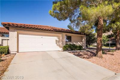 Boulder City Condo/Townhouse For Sale: 439 Ranger Court